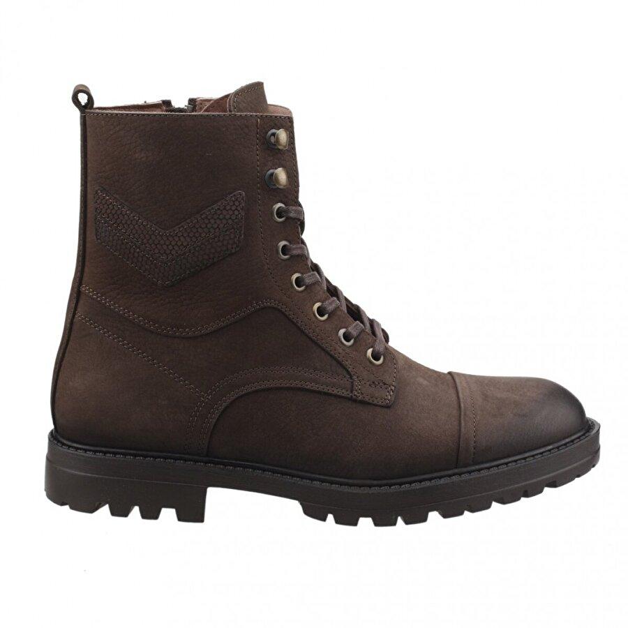 HAMMER JACK 17640-M Nubuk Günlük %100 Deri Erkek Bot Ayakkabı Kahverengi