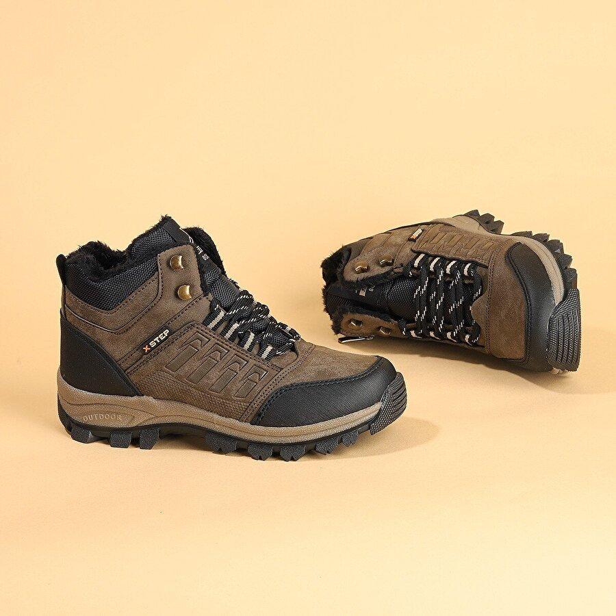Ayakland X6 Soğuk ve Suya Dayanıklı Erkek Çocuk Spor Bot Ayakkabı VIZON