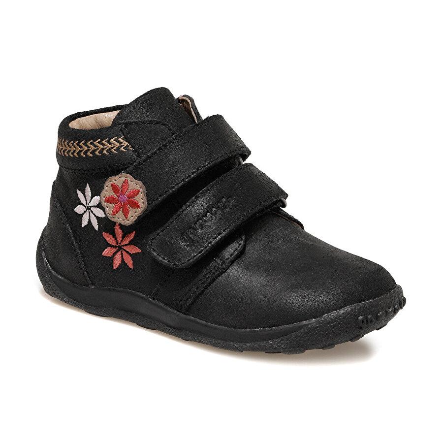 Garvalin 121387 GARVALIN Siyah Kız Çocuk Casual Ayakkabı