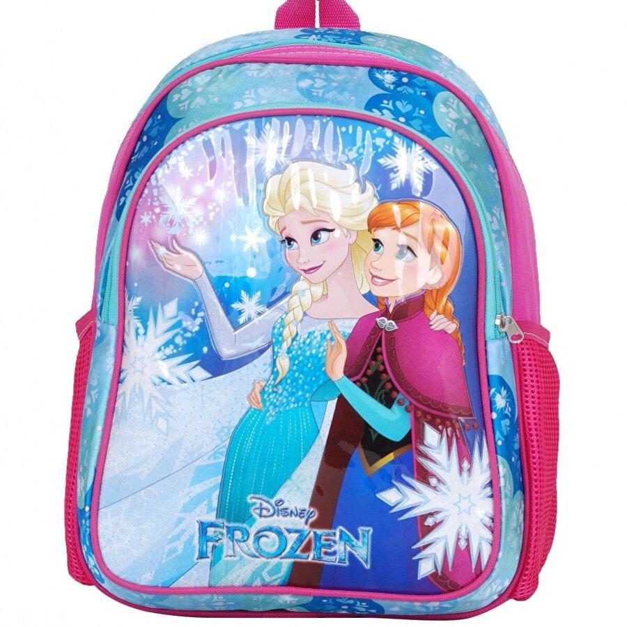 Frozen Kız Çocuk  Elsa Işıltılı İlkokul Sırt Çantası 96439