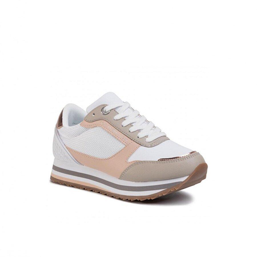 Tommy Hilfiger Kadın  Feminine Monogram Runner Sneaker Kadın Ayakkabı FW0FW04706