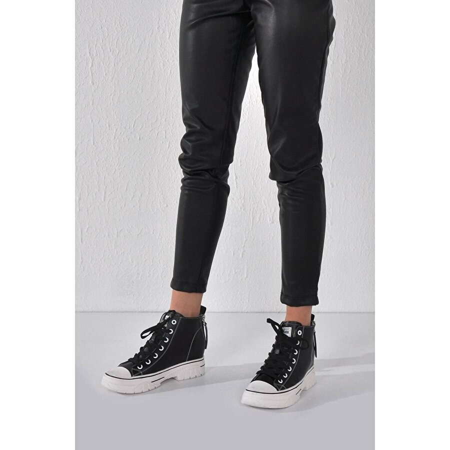 Vizon Ayakkabı Kadın  Siyah Sneaker VZN20-031K
