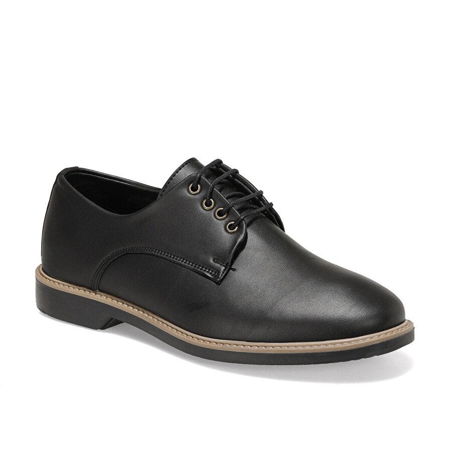 JJ-Stiller 2020.166 Siyah Erkek Klasik Ayakkabı