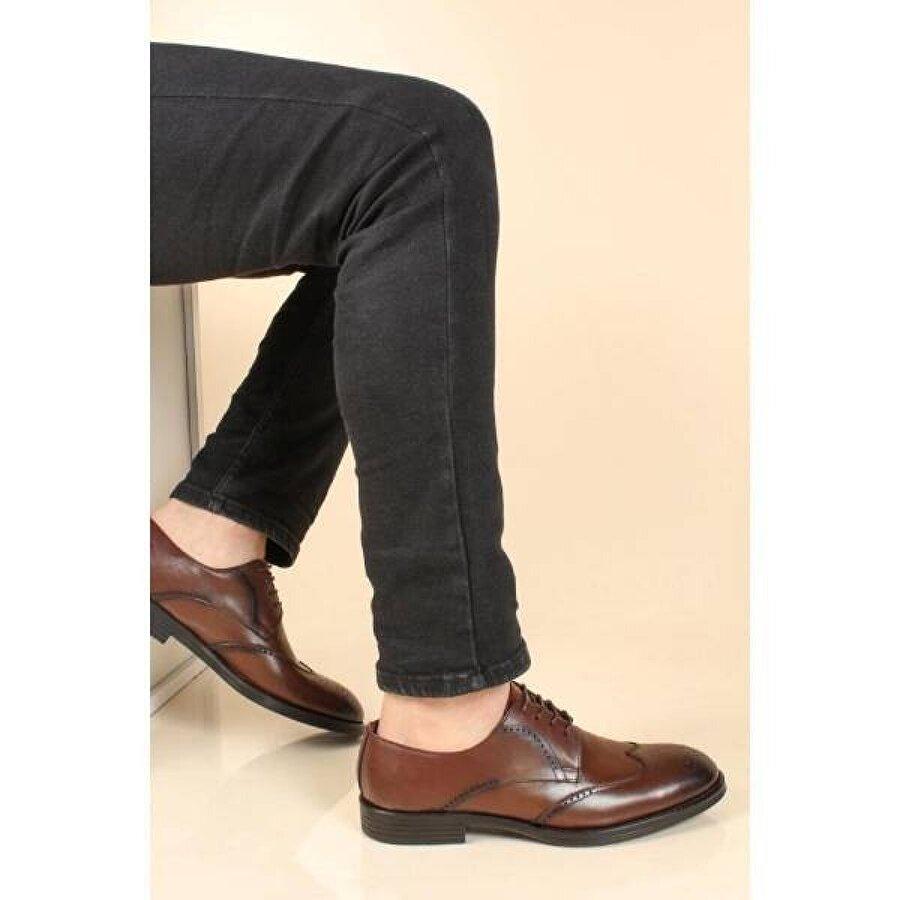 Fast Step Hakiki Deri Erkek Klasik Ayakkabı 879MA586