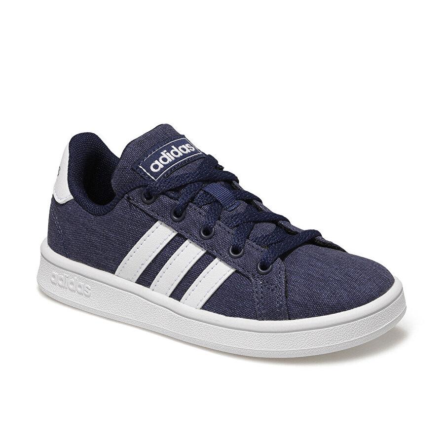 adidas GRAND COURT K Mavi Erkek Çocuk Sneaker Ayakkabı