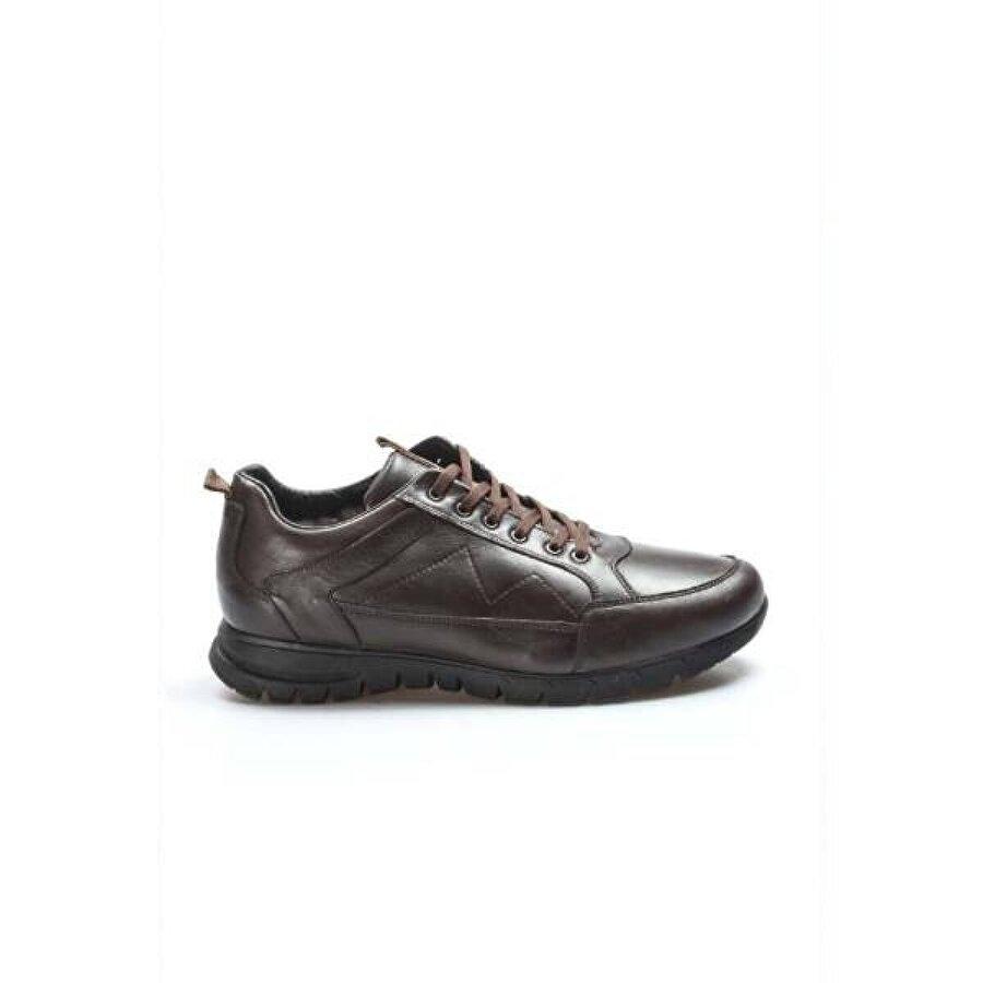 Fast Step Hakiki Deri Kürklü Erkek Outdoor Ayakkabı 723KMBA2021