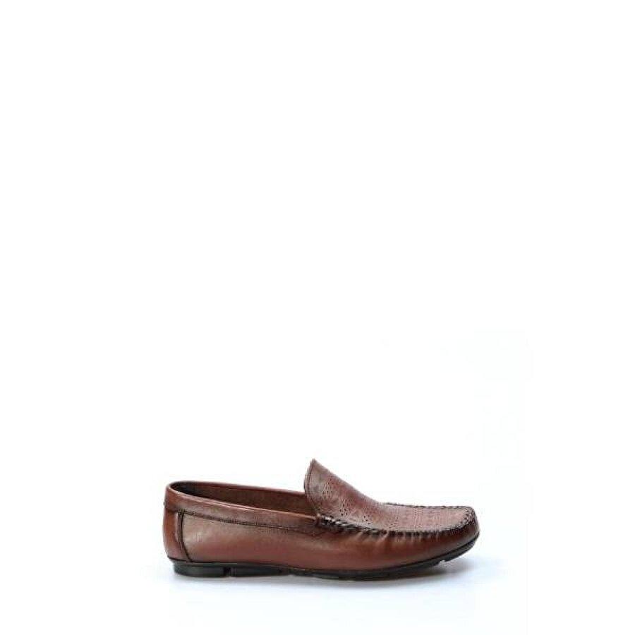 Fast Step Hakiki Deri Erkek Loafer Ayakkabı 858MA401