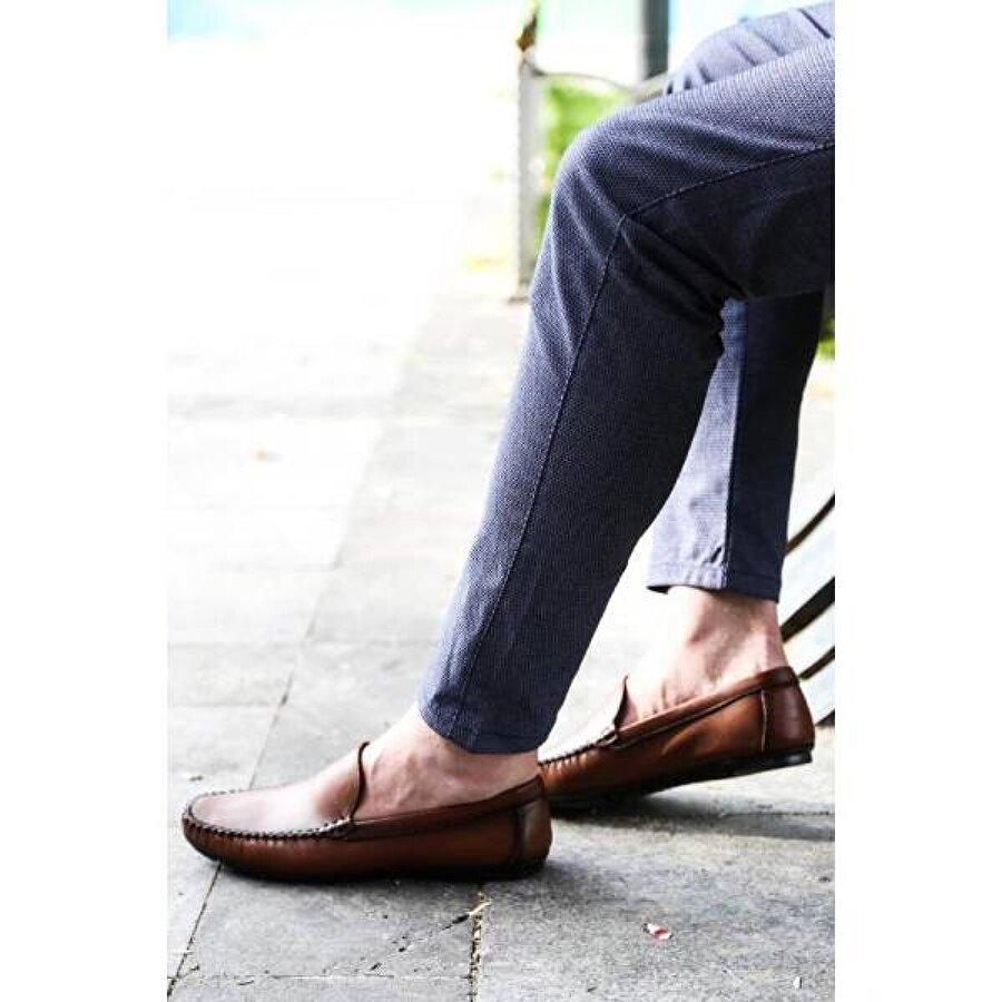 Fast Step Hakiki Deri Erkek Loafer Ayakkabı 858MA400
