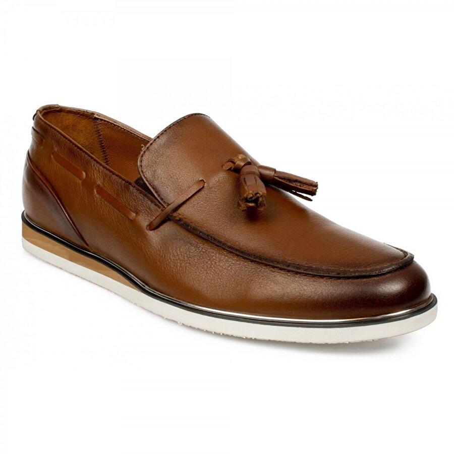Marcomen 11426 Hakiki Deri Fashion Taba Erkek Ayakkabı