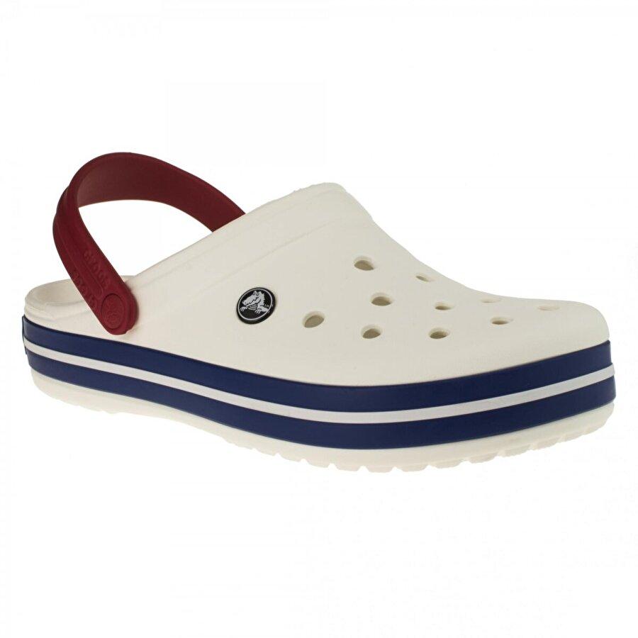 Crocs 11016 Crocband Beyaz-Lacivert Erkek Terlik