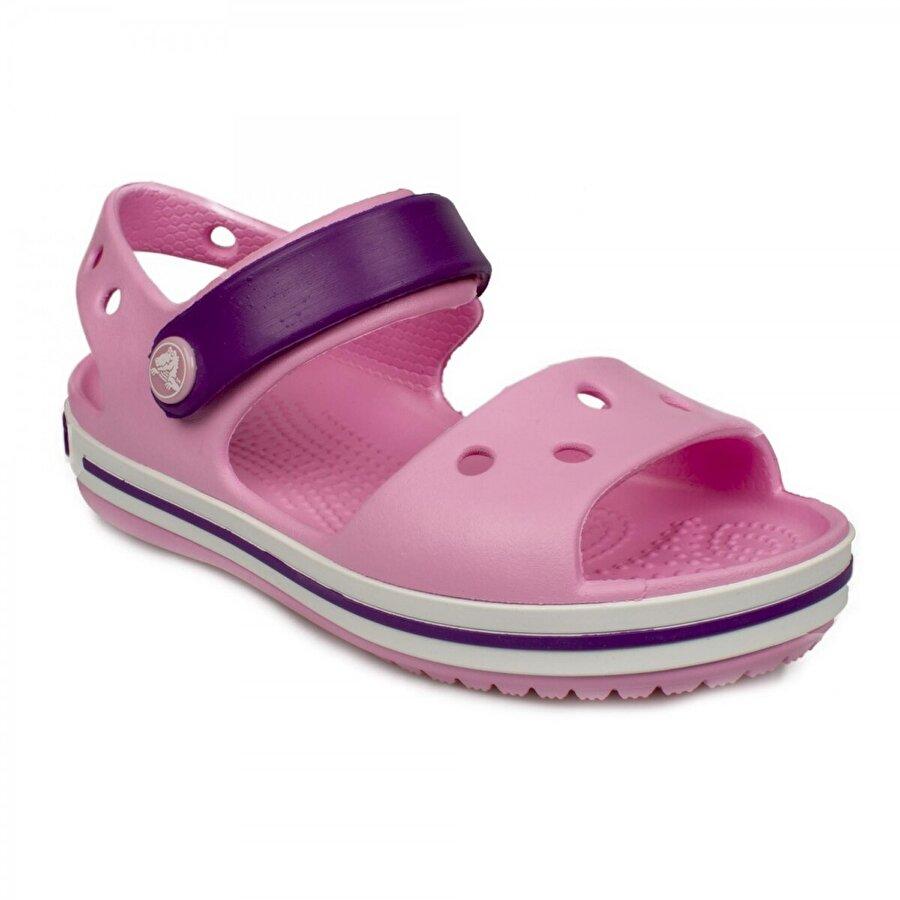 Crocs 12856 K Crocband Sandal Kids Pembe Çocuk Terlik
