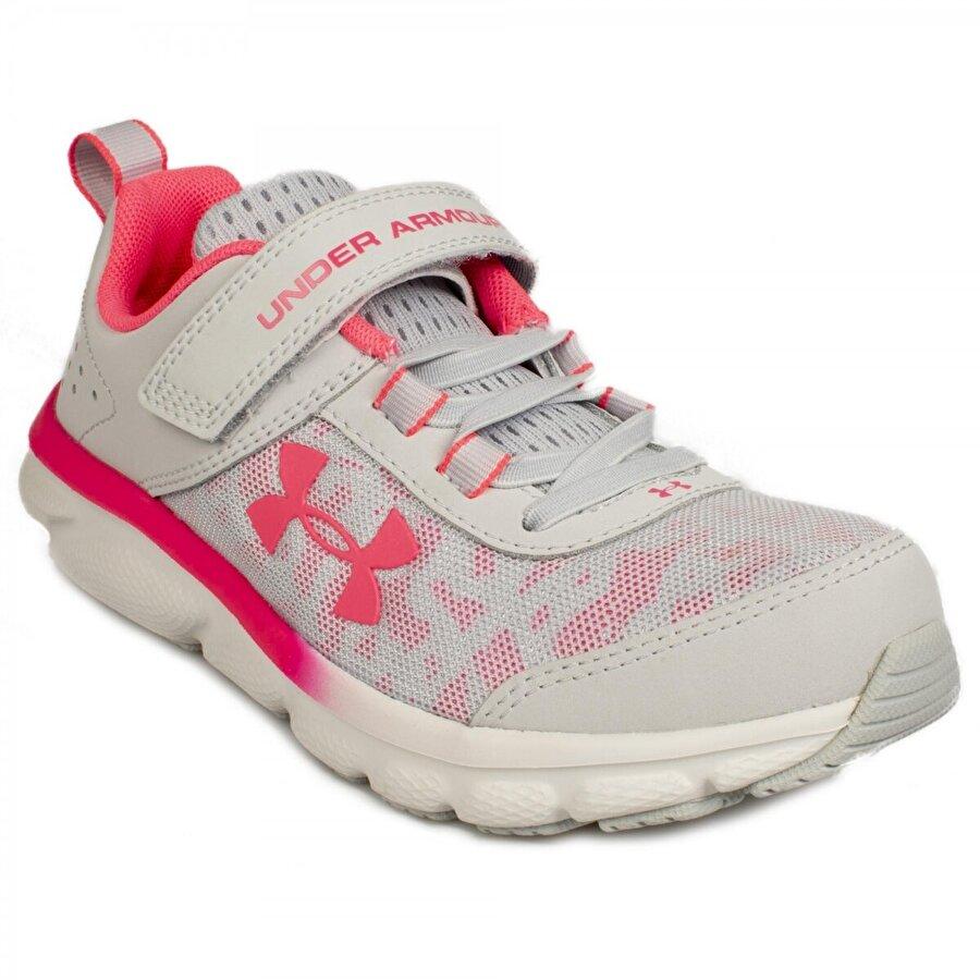 Under Armour 3022101 Ua Ps Assert 8 Koşu Gri Erkek Spor Ayakkabı