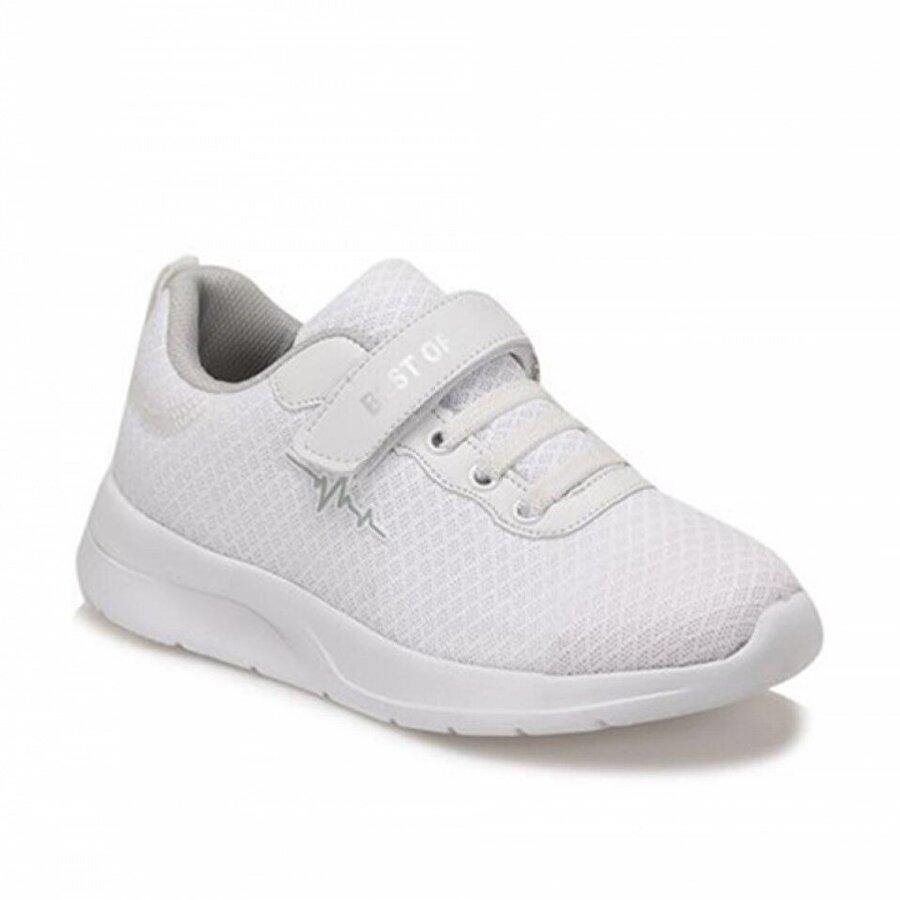 Best Of Beyaz Çocuk Sneaker Ayakkabısı