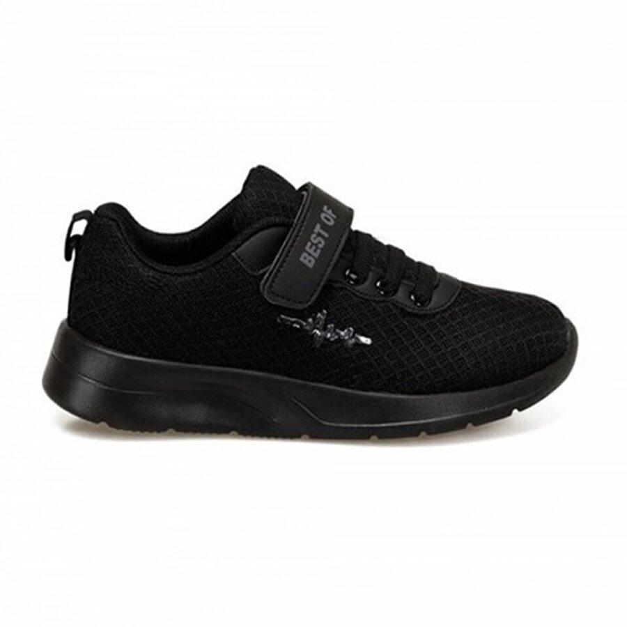Best Of Siyah Çocuk Sneaker Ayakkabısı