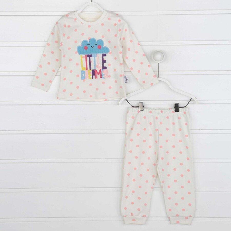 Modakids Pembe Kız Çocuk Pijama Takımı