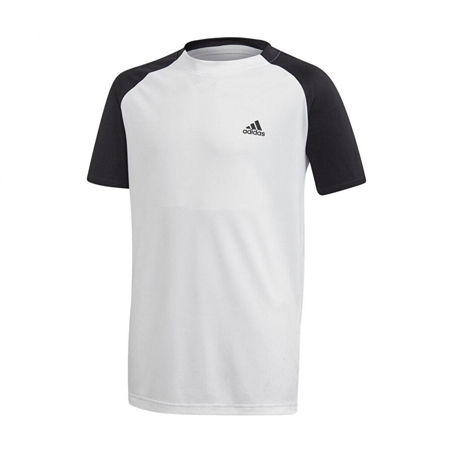 adidas B CLUB TEE Beyaz Erkek Çocuk T-Shirt