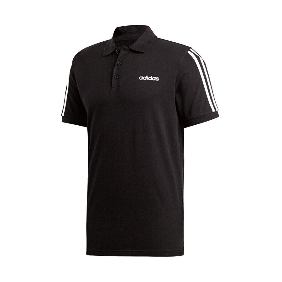 adidas M COT POLO 3S Siyah Erkek Kısa Kol T-Shirt