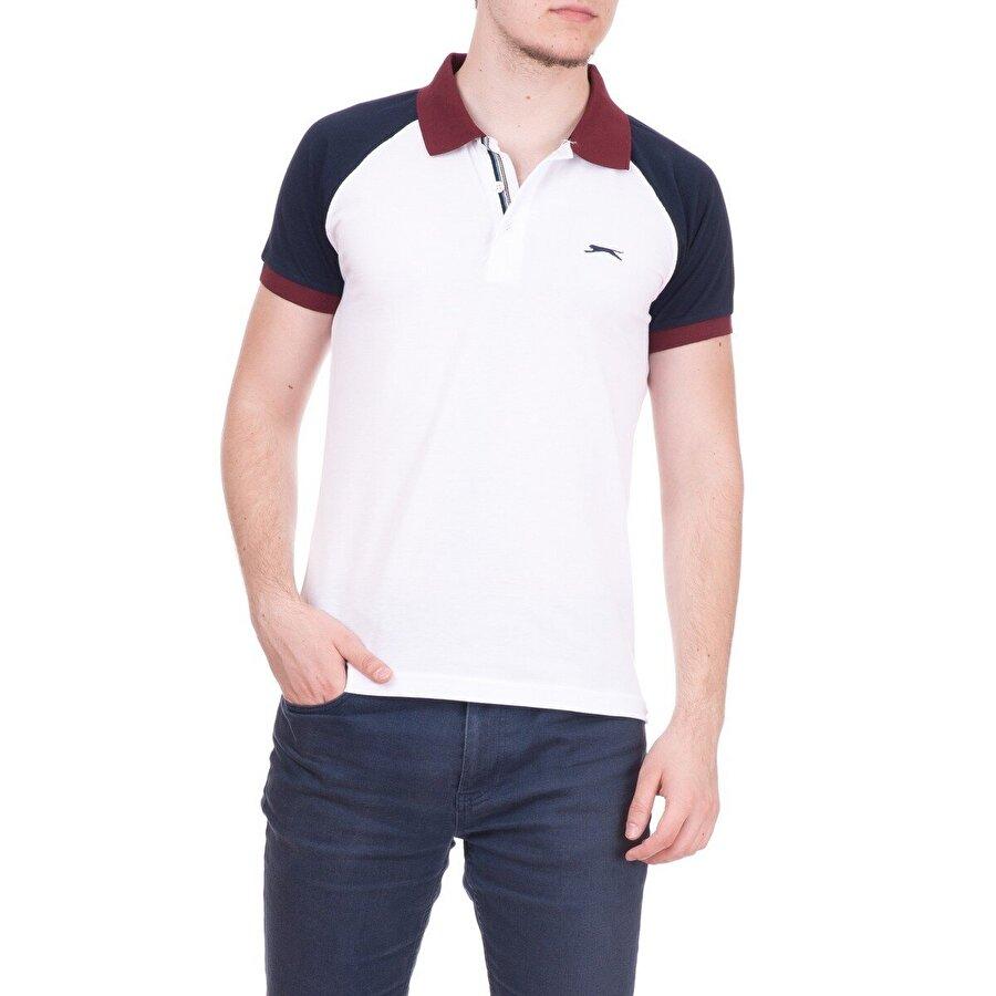 Slazenger ARA Erkek T-Shirt Beyaz