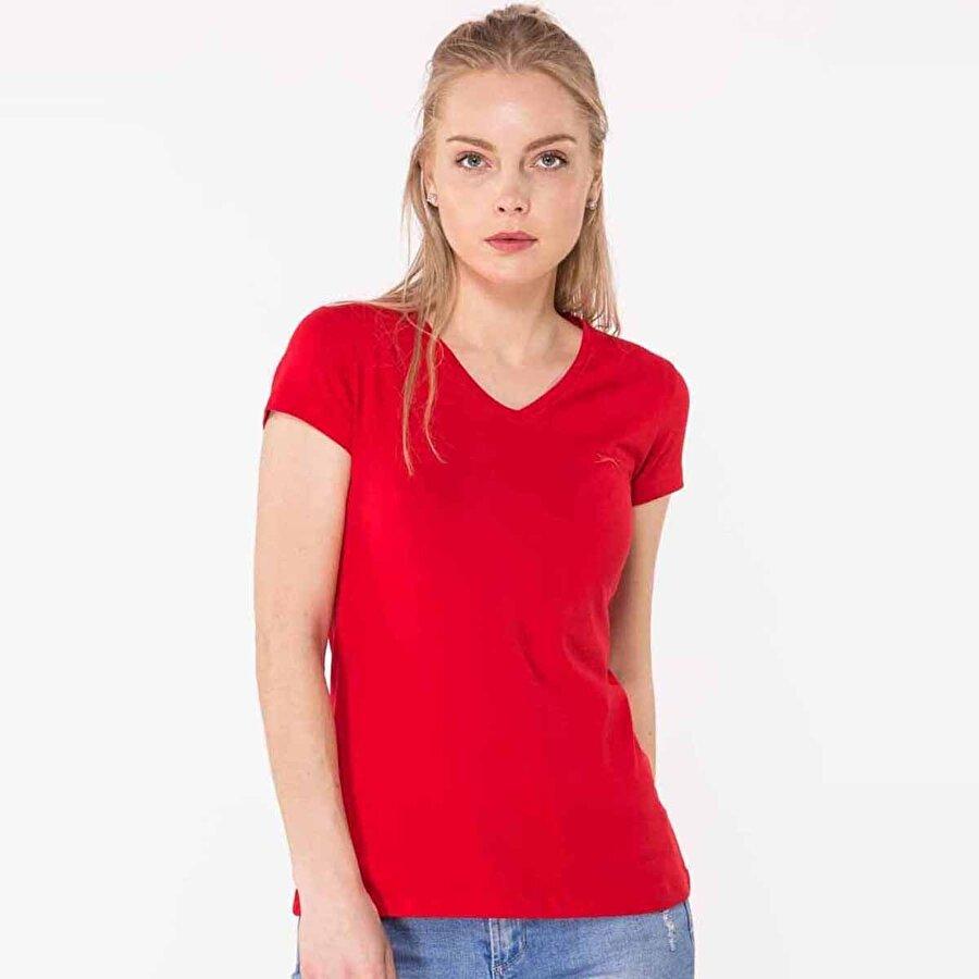 Slazenger SINDY Kadın T-Shirt Kırmızı