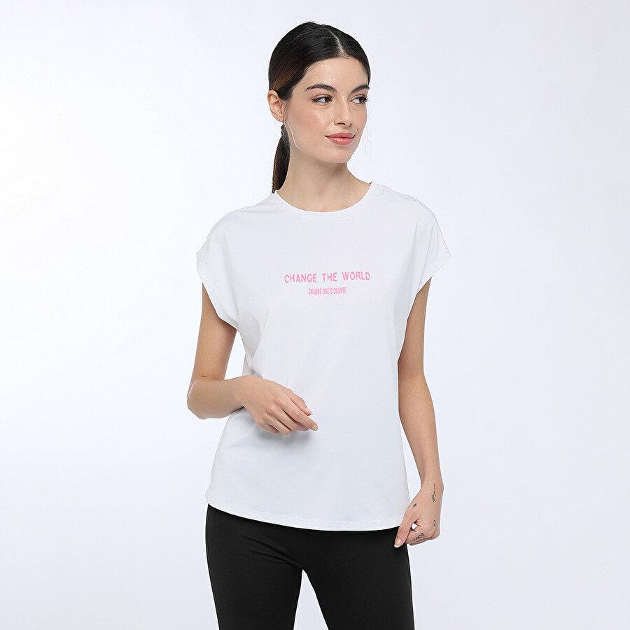 Lumberjack KALINA T-SHIRT Beyaz Kadın T-Shirt