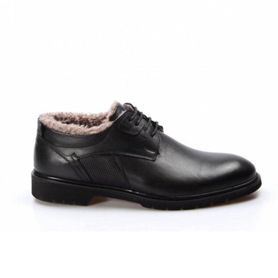 Fast Step Hakiki Deri Kürklü Erkek Klasik Ayakkabı 711KMA478