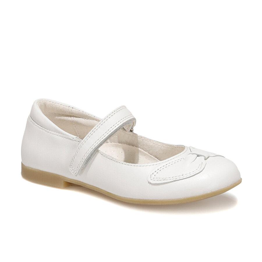 Kifidis 6377F4  MELANIA Beyaz Kız Çocuk Babet