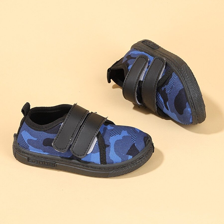 SANBE 105 S 002 Okul Kreş Kız/Erkek Çocuk Panduf Ayakkabı SAKS