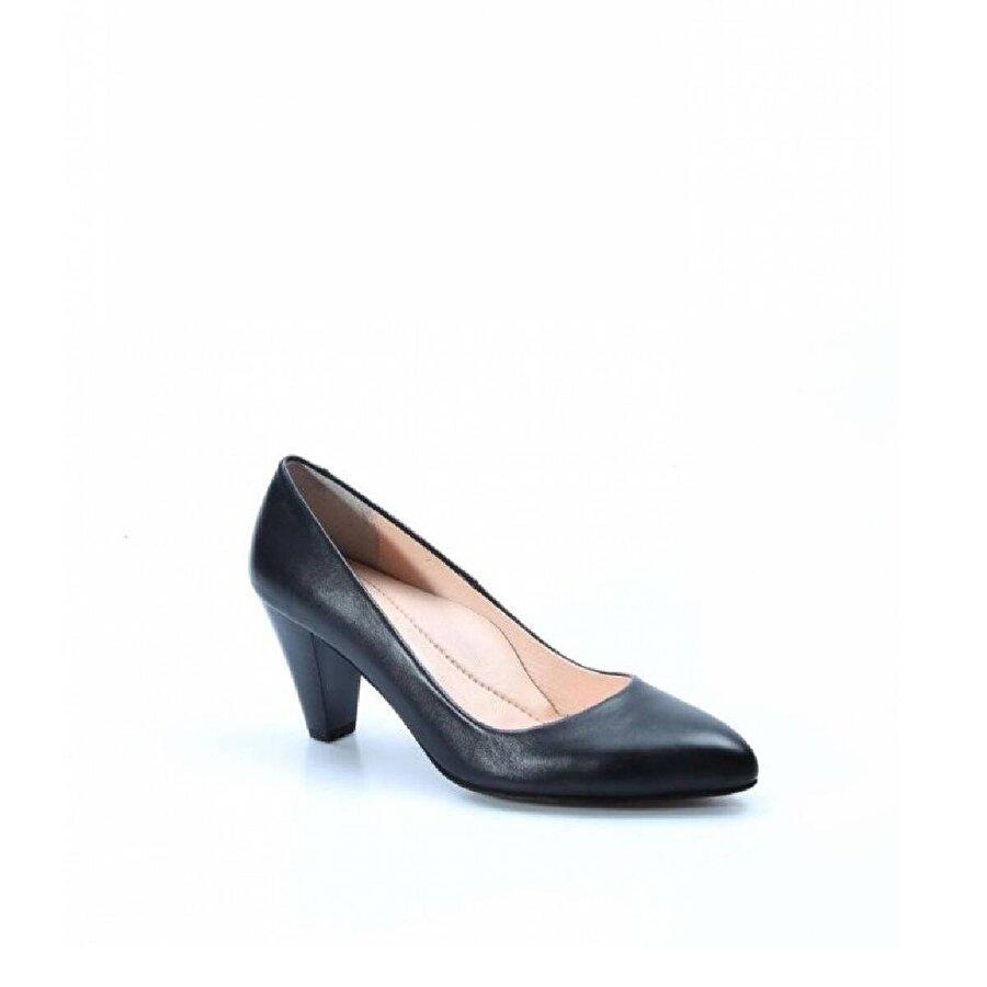 Fast Step Hakiki Deri Kadın Kısa Topuklu Ayakkabı 064ZA778