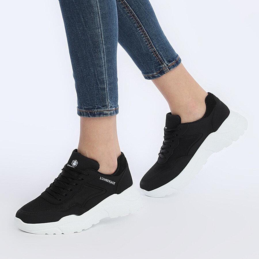 Lumberjack HENORA 9PR Siyah Kadın Fashion Sneaker