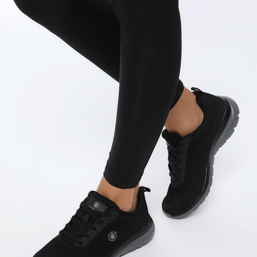 Lumberjack SAHRA Siyah Kadın Comfort Ayakkabı