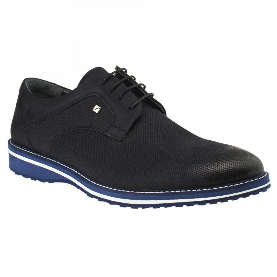 FOSCO 8071MBA Bağlı Klasik Lacivert Erkek Ayakkabı