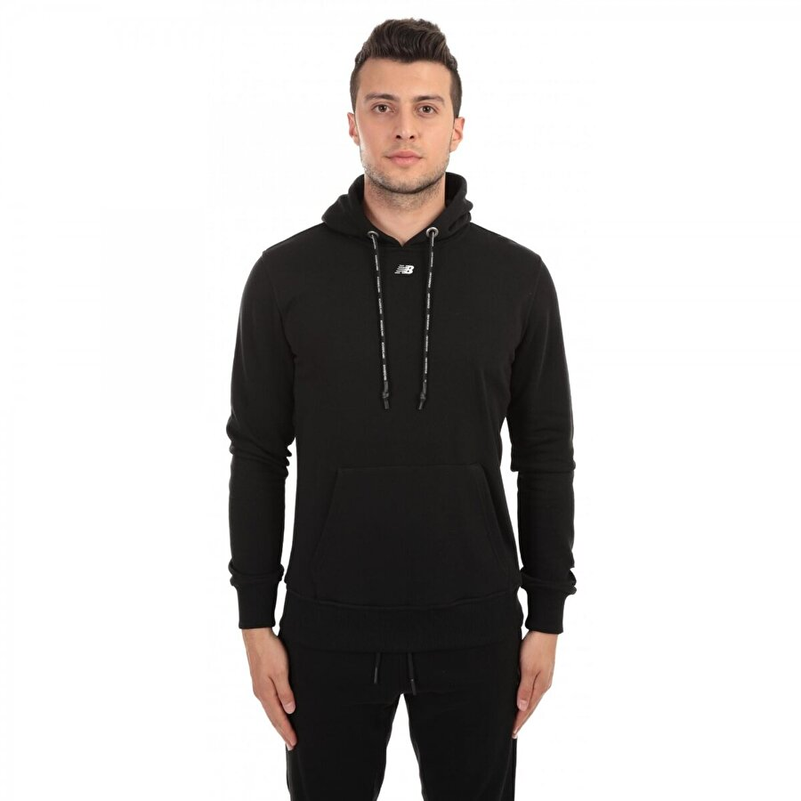 New balance Mph023 Nb Mens Retro Hoodie Siyah Erkek Giyim