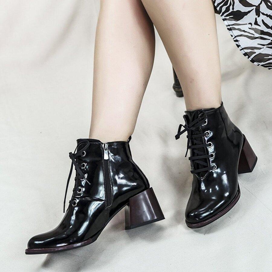 Hayati Arman Kadın Kısa Topuklu Bot