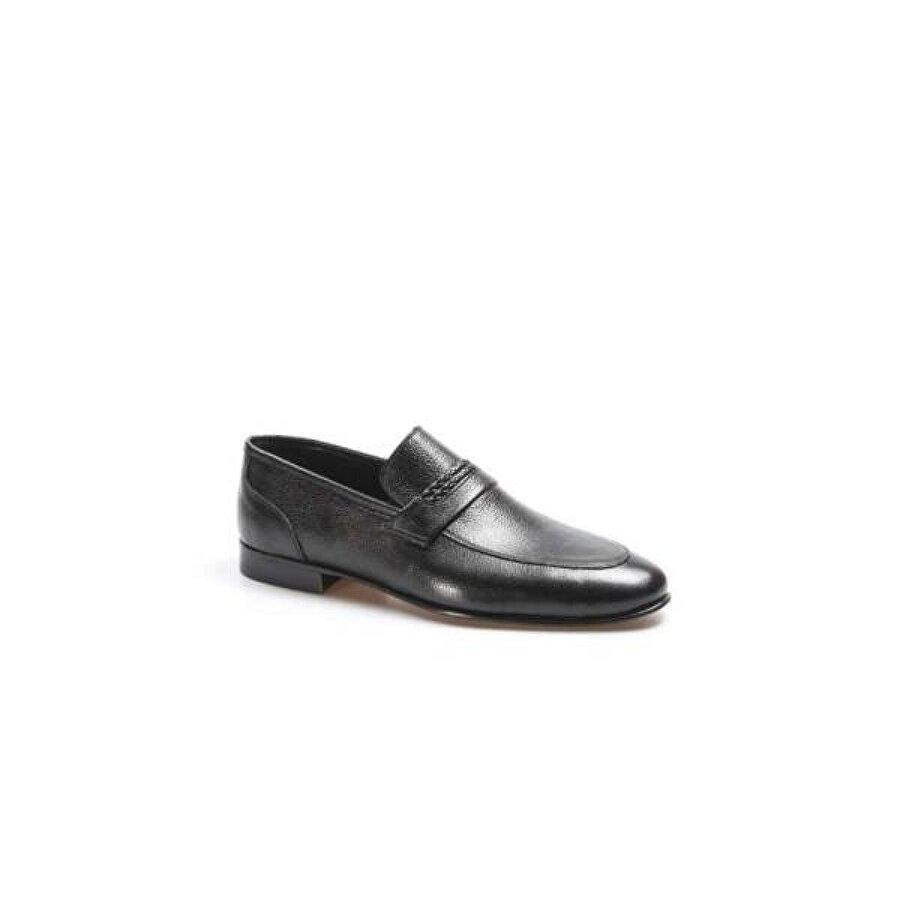 Fast Step Hakiki Deri Kösele Erkek Klasik Ayakkabı 932MA301
