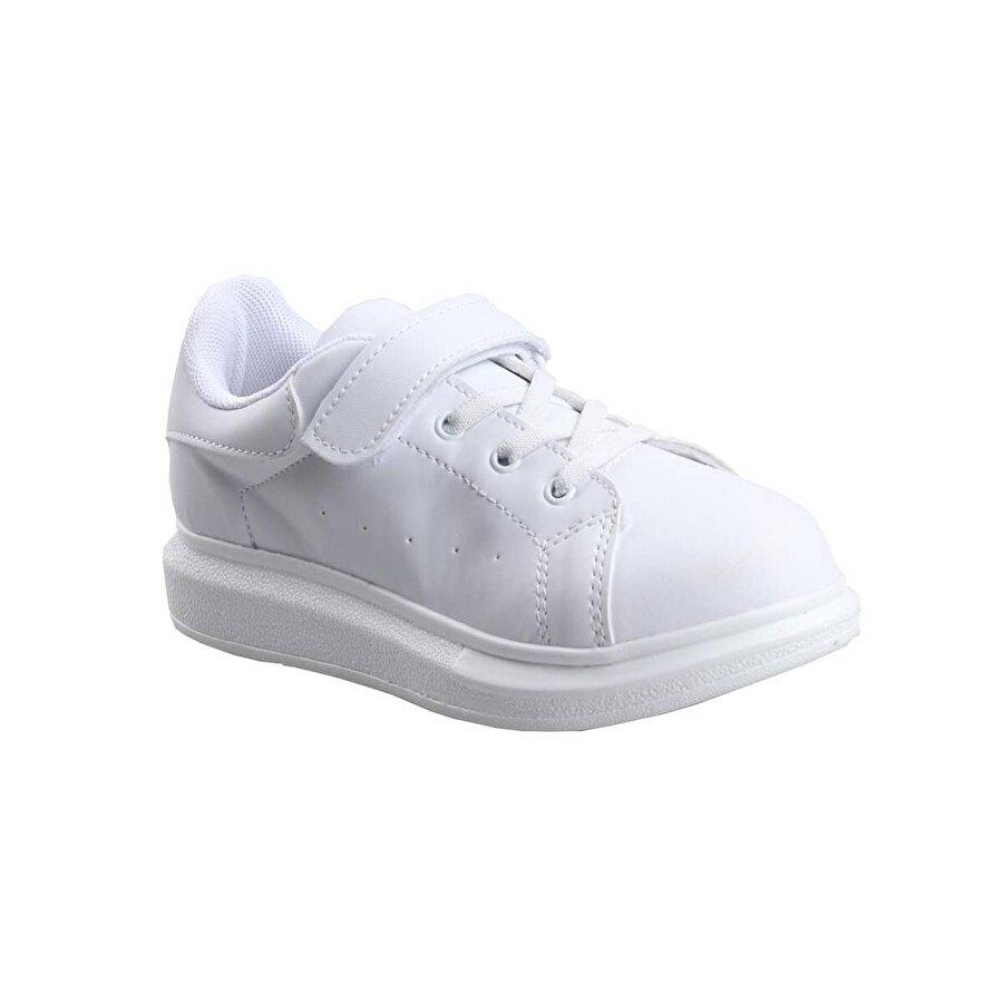 Cool Beyaz Kız Çocuk Günlük Sneaker Spor Ayakkabı
