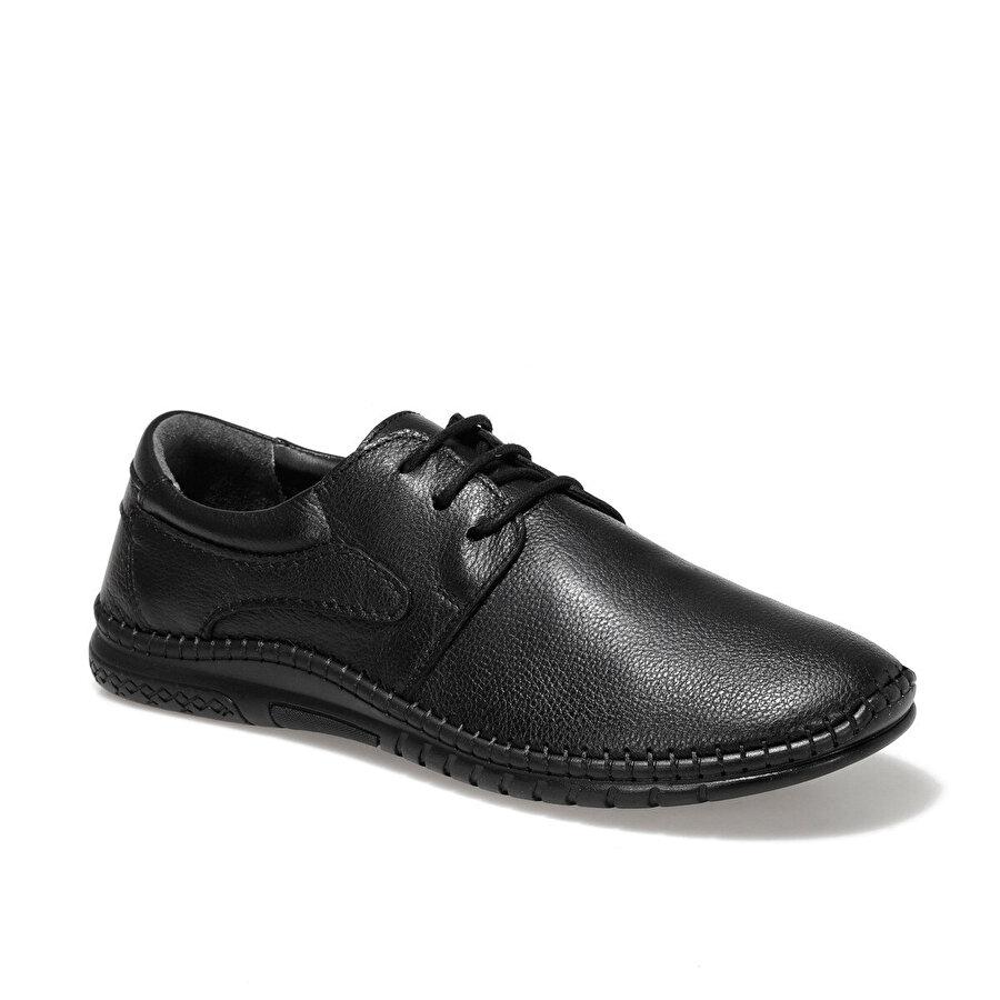 Polaris 5 Nokta 100545.M1FX Siyah Erkek Klasik Ayakkabı