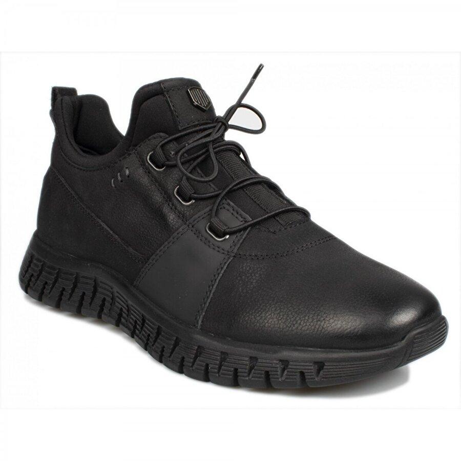 Marcomen 12248 M Causal Günlük Siyah Erkek Ayakkabı