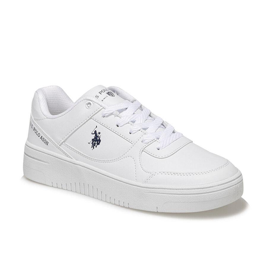 U.S Polo Assn. LEE WMN Beyaz Kadın Sneaker