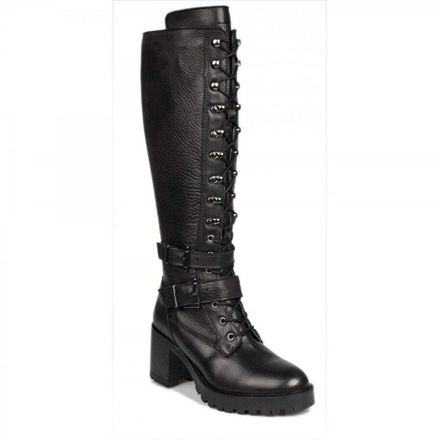 Greyder 30063 Urban Siyah Kadın Çizme