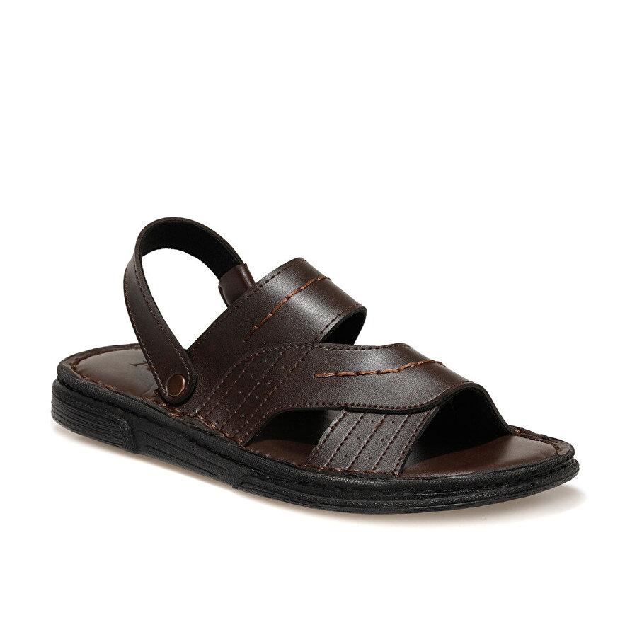 Polaris 160275.M Kahverengi Erkek Sandalet