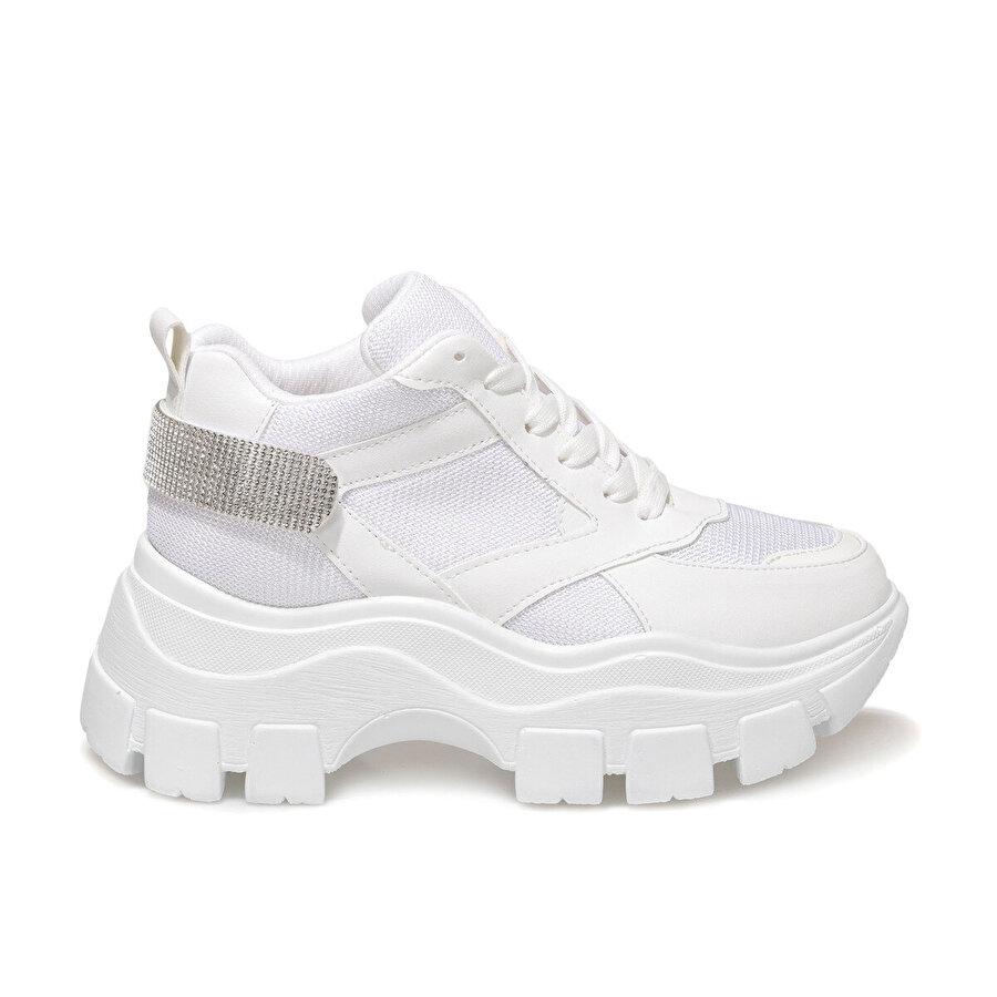 Butigo BRAD Beyaz Kadın Sneaker Bot