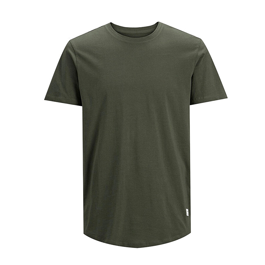 Jack & Jones JJENOA TEE SS CREW NECK N Yeşil Erkek T-Shirt