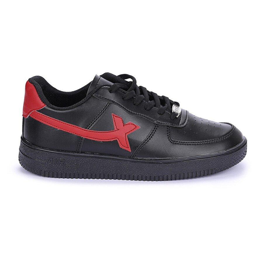 AYAKLAND Nprs X Air Günlük Erkek Spor Ayakkabı Siyah-Kırmızı