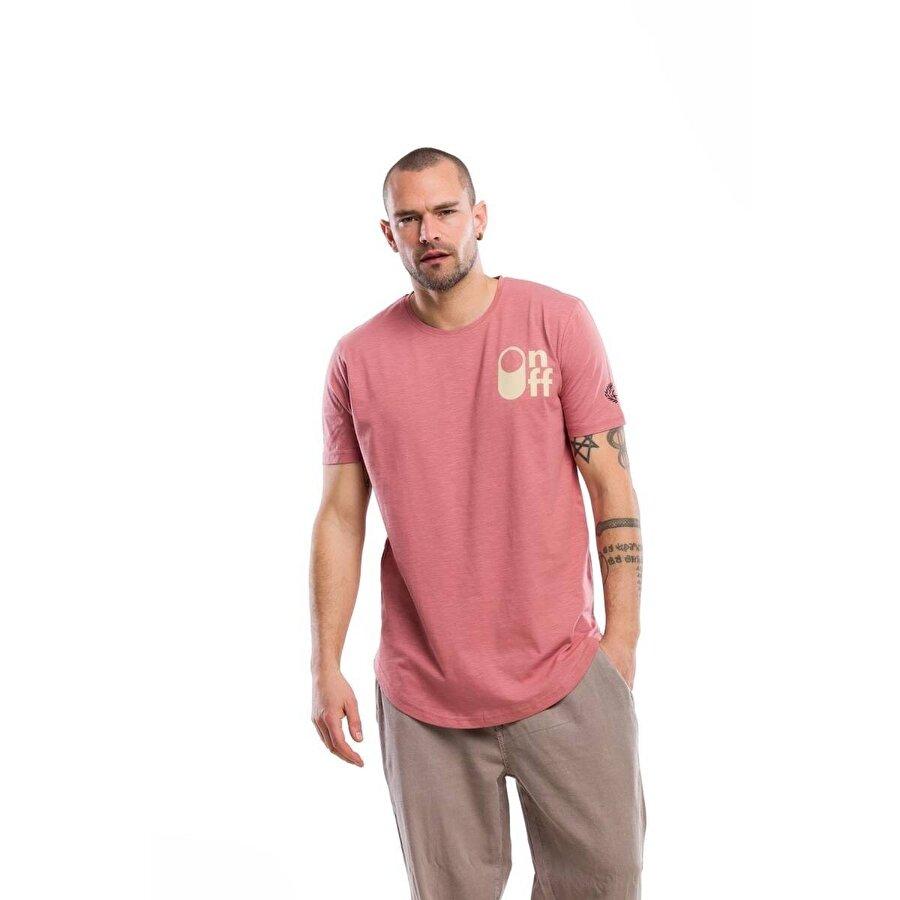 Kevin Erkek T1 Mercan Tişört