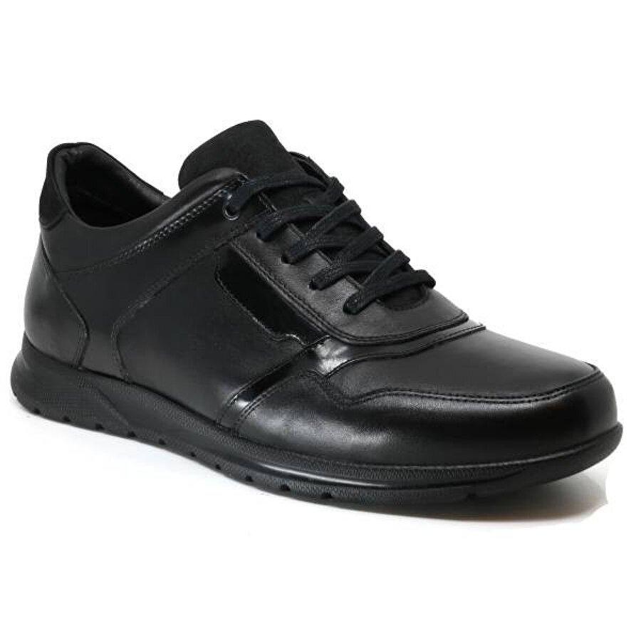 Ayakkabix Unkown Aspora Hakiki Deri 46-47-48 Erkek Ayakkabı Siyah