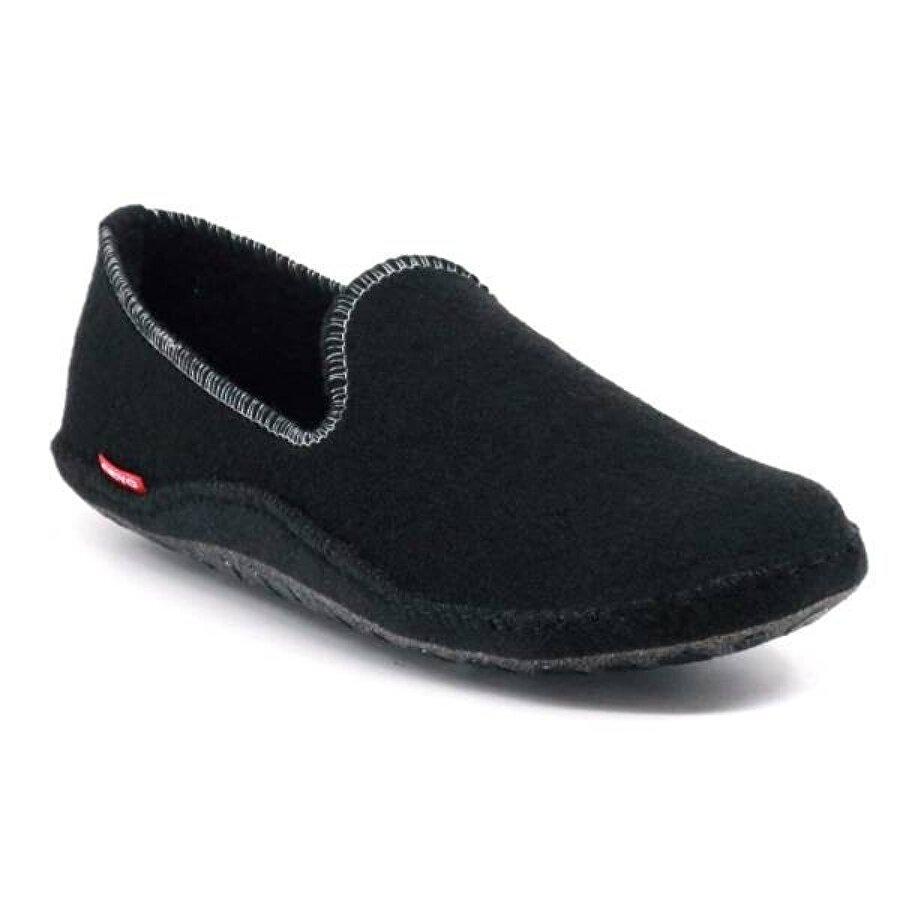 Ceyo Puffi-z4 Kapalı  Ev Terliği Ev Patiği Kadın Ayakkabı Siyah