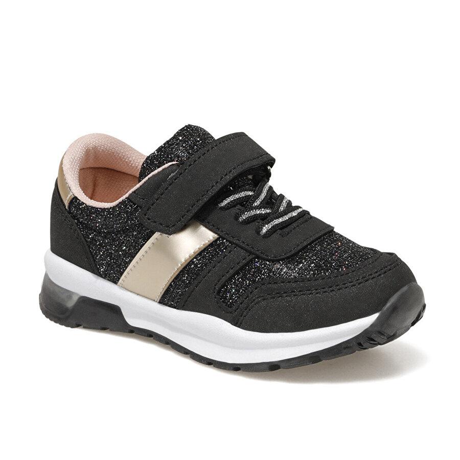 Seventeen PIRILTI 1FX Siyah Kız Çocuk Spor Ayakkabı