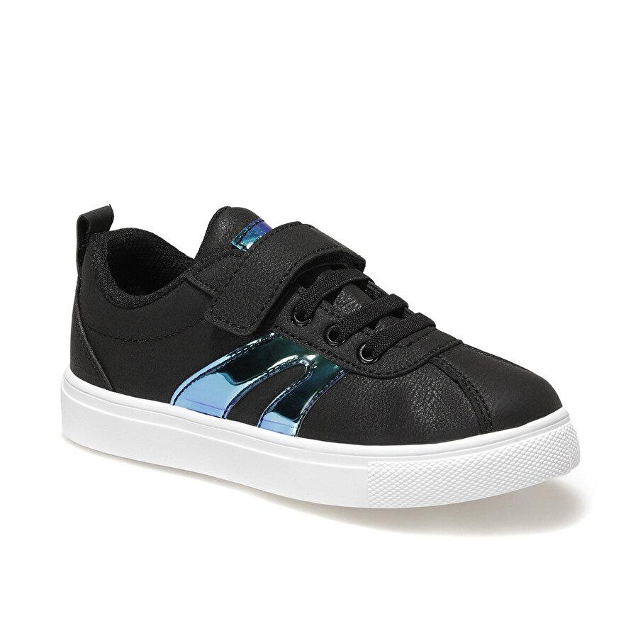 I Cool LETTO Siyah Kız Çocuk Sneaker Ayakkabı