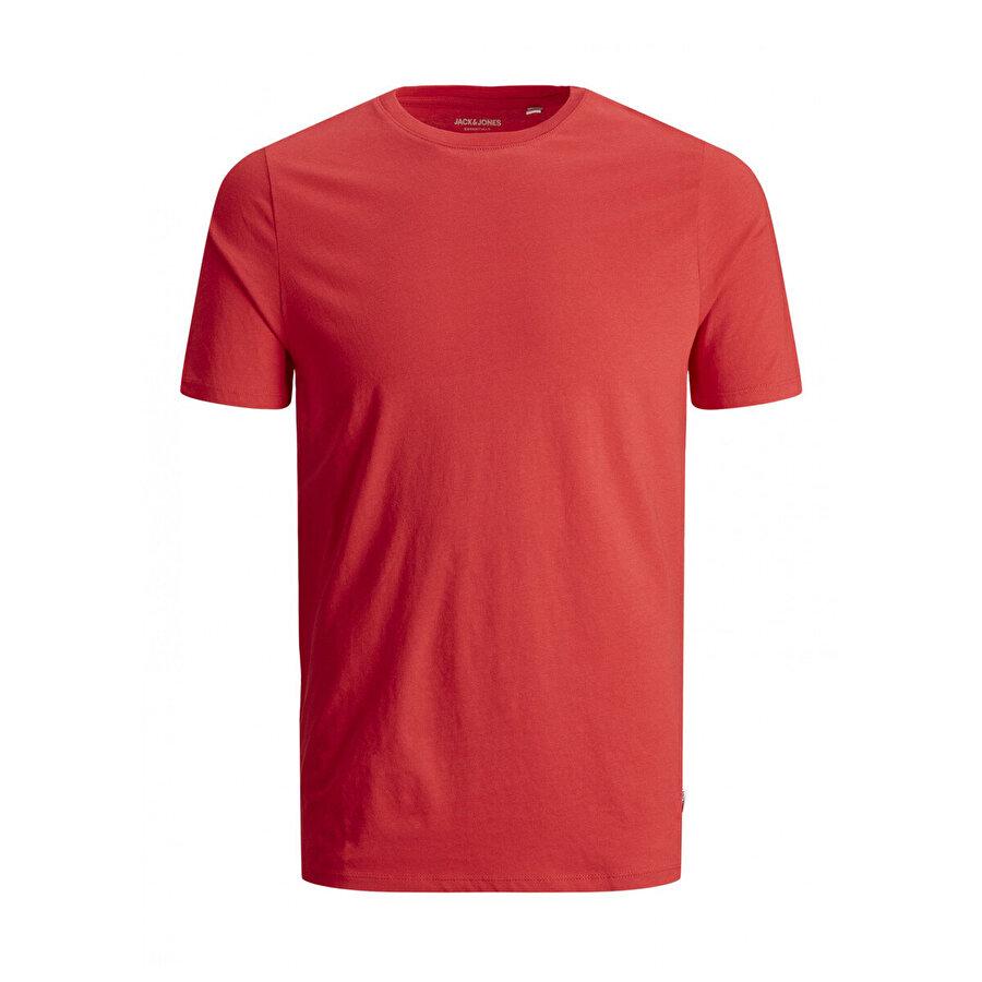 Jack & Jones JJEORGANIC BASIC TEE SS O Kırmızı Erkek T-Shirt