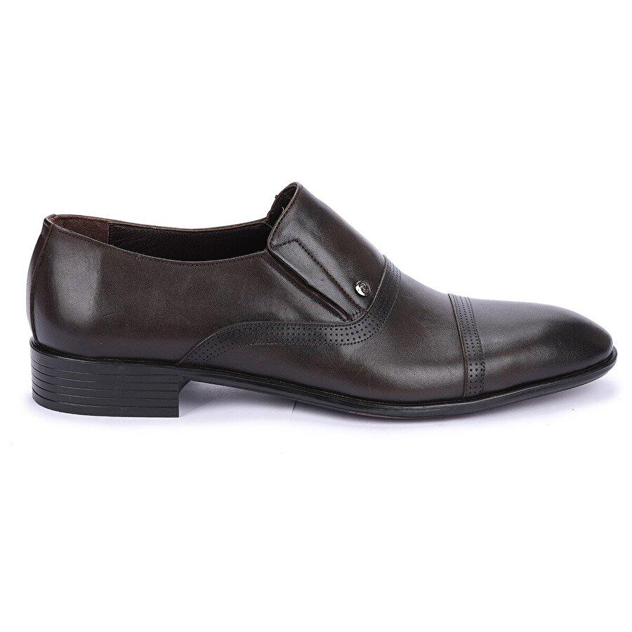 AYAKLAND P545 %100 Deri Klasik Erkek Ayakkabı Kahverengi